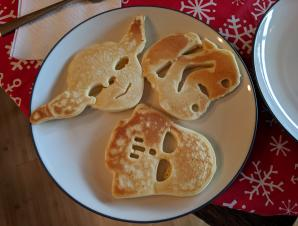 Star Wars pancake morning