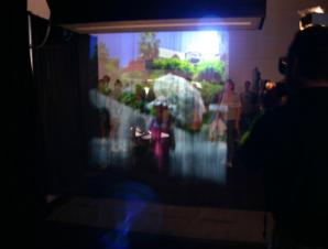 myst projector screen