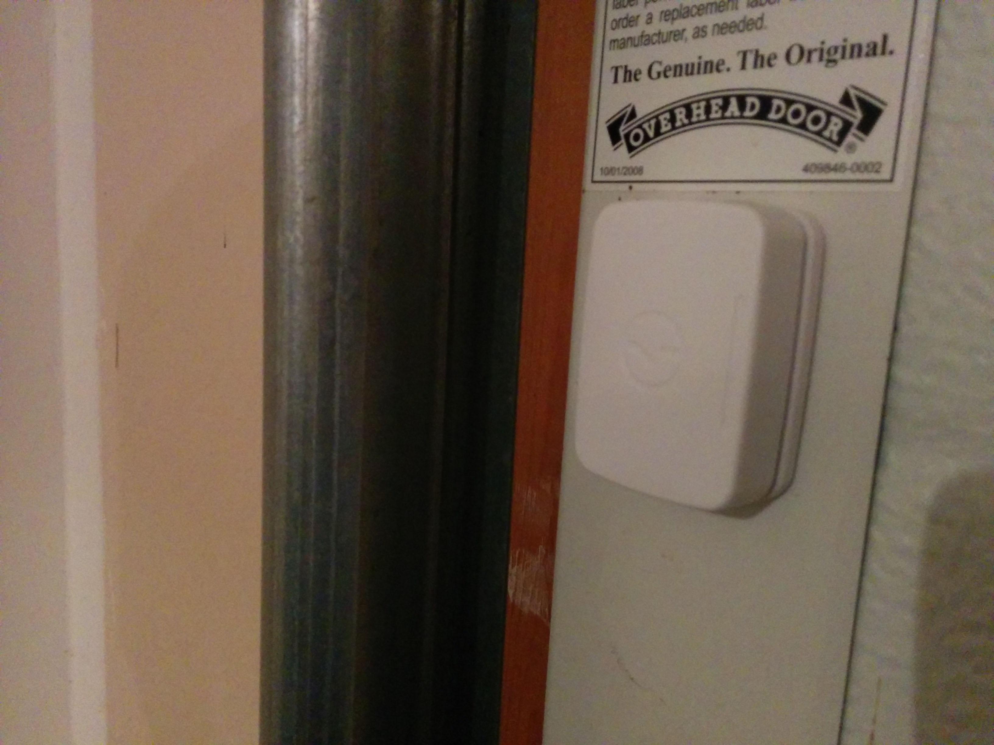 multipurpose sensor on garage door - Smartthings Garage Door